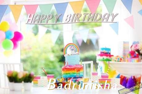 Birthday Wishes with Images of Badrunisha