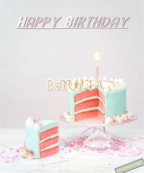 Happy Birthday Wishes for Badrunisha