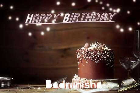Happy Birthday Cake for Badrunisha