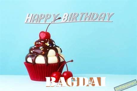 Happy Birthday Bagdai Cake Image