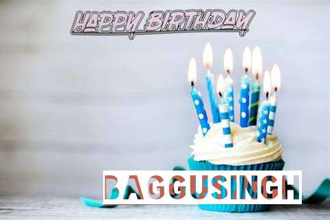 Happy Birthday Baggusingh Cake Image