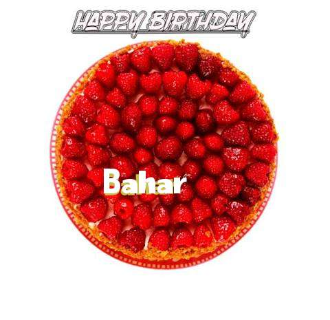 Happy Birthday to You Bahar