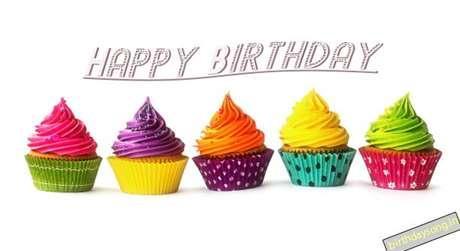 Happy Birthday Bahwana Cake Image