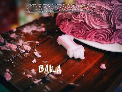 Baila Birthday Celebration
