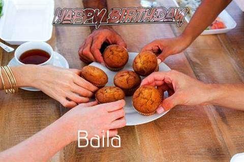Happy Birthday Wishes for Baila