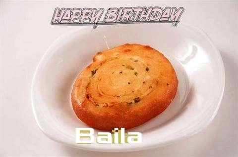 Happy Birthday Cake for Baila