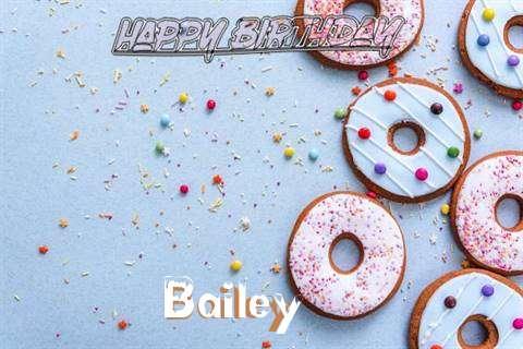 Happy Birthday Bailey Cake Image