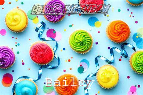 Happy Birthday Cake for Bailey