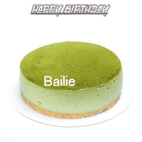 Happy Birthday Cake for Bailie