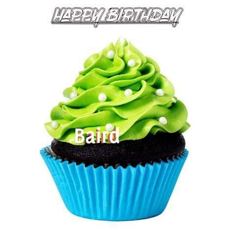 Happy Birthday Baird