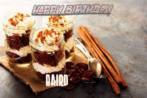 Baird Birthday Celebration
