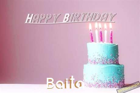 Happy Birthday Cake for Baita