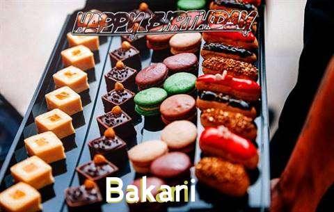 Happy Birthday Bakari