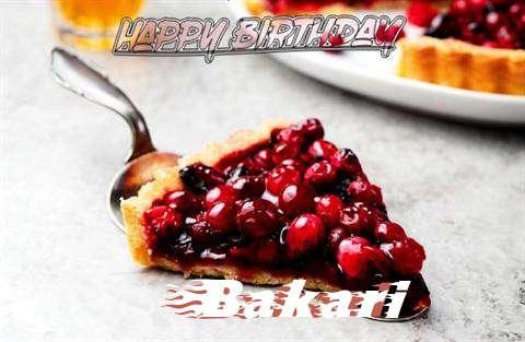Birthday Wishes with Images of Bakari