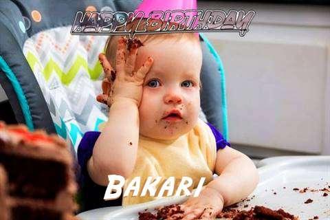 Happy Birthday Wishes for Bakari