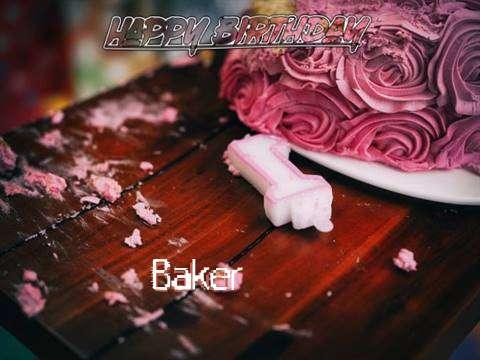 Baker Birthday Celebration