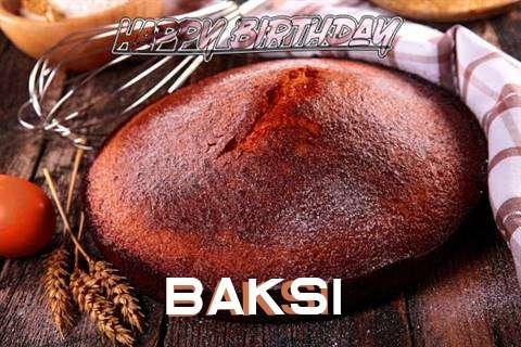 Happy Birthday Baksi Cake Image