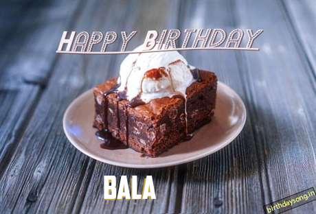 Happy Birthday Bala Cake Image