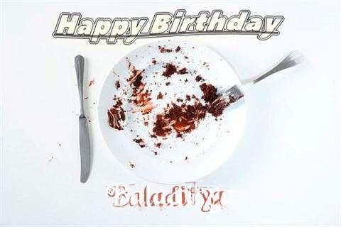 Birthday Wishes with Images of Baladitya