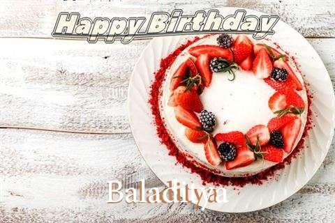 Happy Birthday to You Baladitya