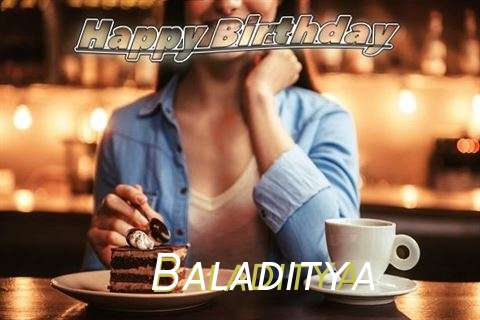Happy Birthday Cake for Baladitya