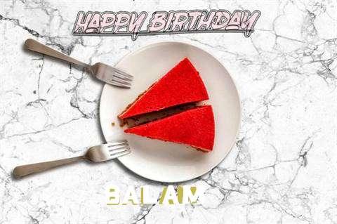 Happy Birthday Balam