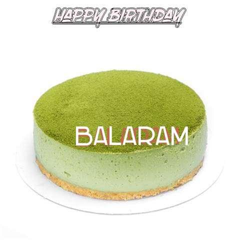 Happy Birthday Cake for Balaram
