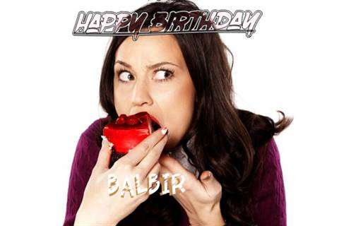 Happy Birthday Wishes for Balbir