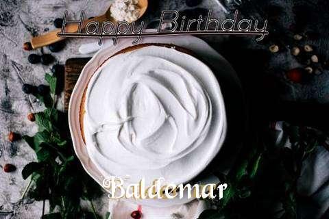 Happy Birthday Baldemar Cake Image