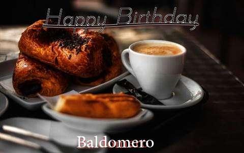 Happy Birthday Baldomero Cake Image