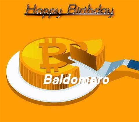 Happy Birthday Wishes for Baldomero