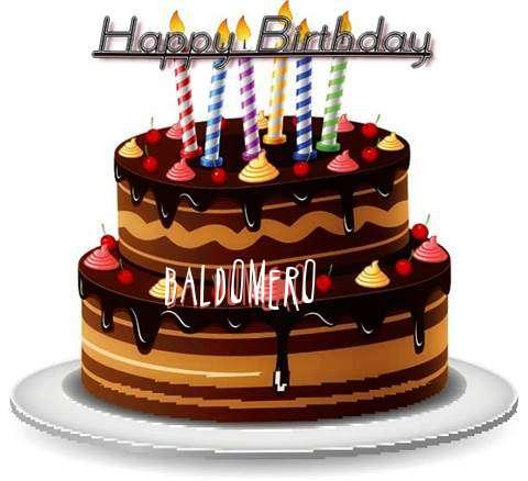 Happy Birthday to You Baldomero