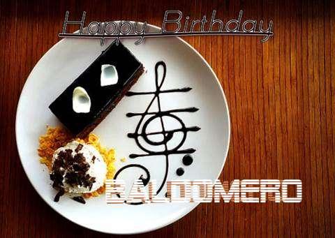 Happy Birthday Cake for Baldomero