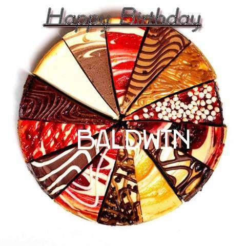 Happy Birthday to You Baldwin