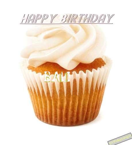 Happy Birthday Wishes for Bali