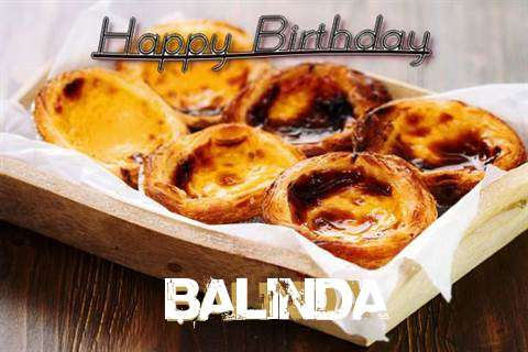 Happy Birthday Wishes for Balinda