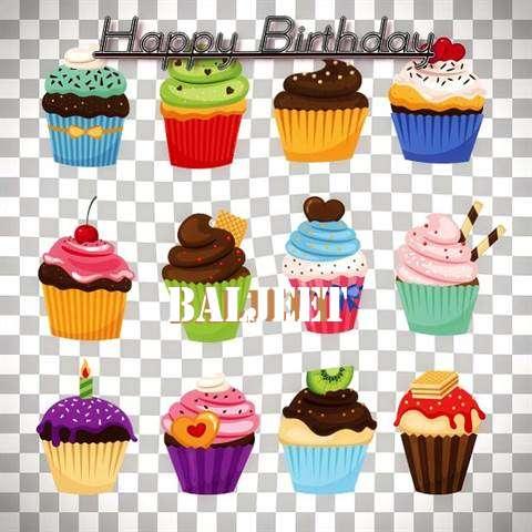 Happy Birthday Wishes for Baljeet