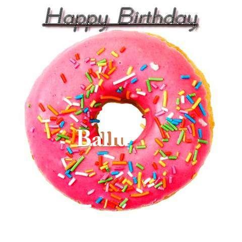 Happy Birthday Wishes for Ballu