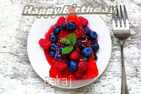 Happy Birthday Cake for Balraj