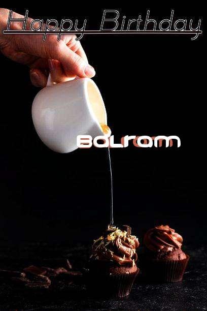 Happy Birthday Balram Cake Image