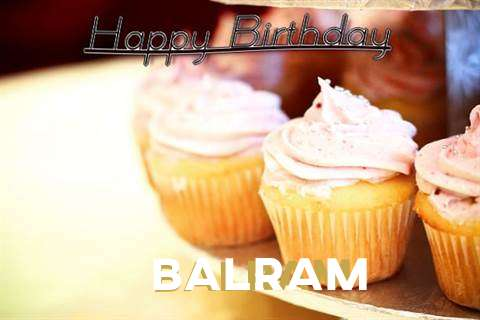 Happy Birthday Cake for Balram