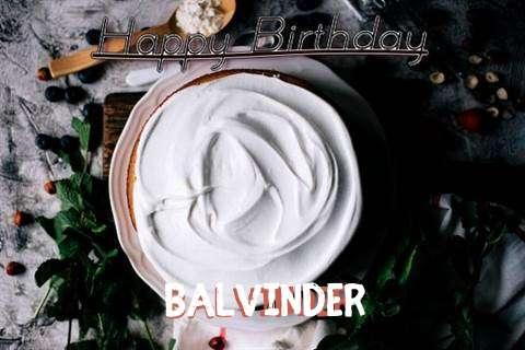 Happy Birthday Balvinder Cake Image