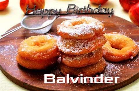 Happy Birthday Wishes for Balvinder