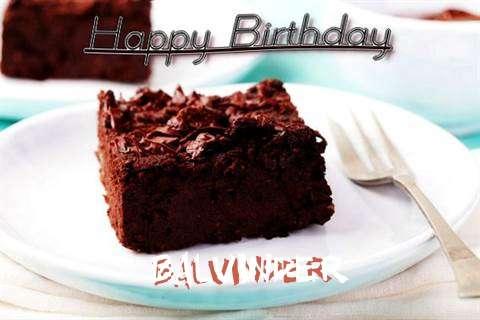 Happy Birthday Cake for Balvinder