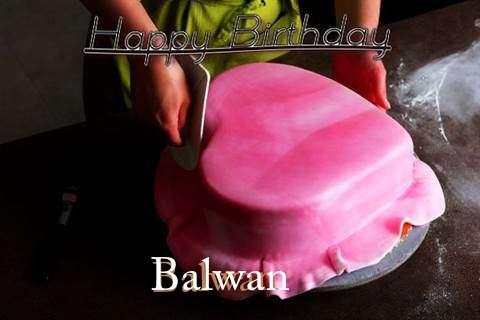Happy Birthday Cake for Balwan