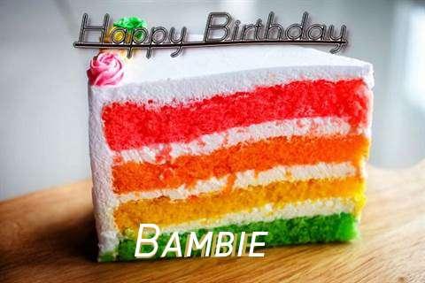 Happy Birthday Bambie