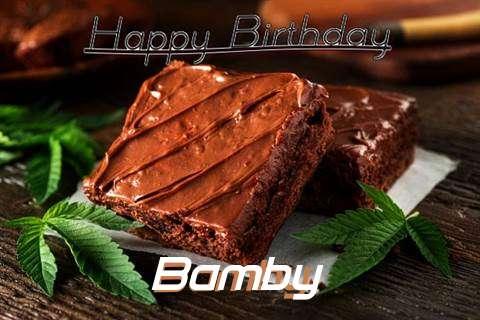 Happy Birthday Bamby