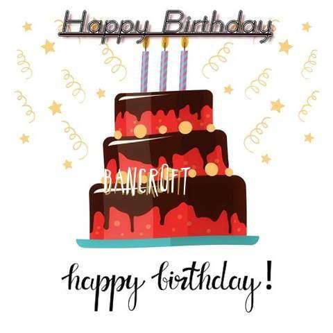 Happy Birthday Cake for Bancroft