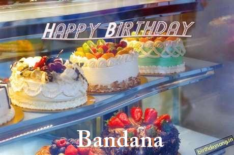 Birthday Wishes with Images of Bandana