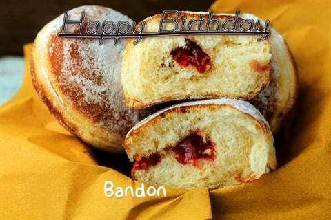Happy Birthday Cake for Bandon